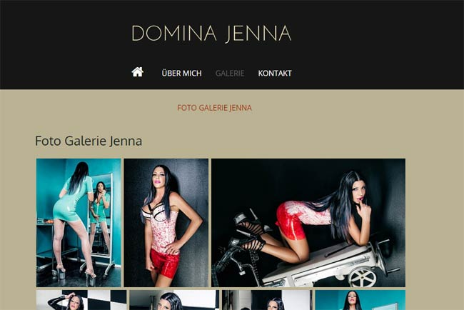 Referenz Domina Jenna